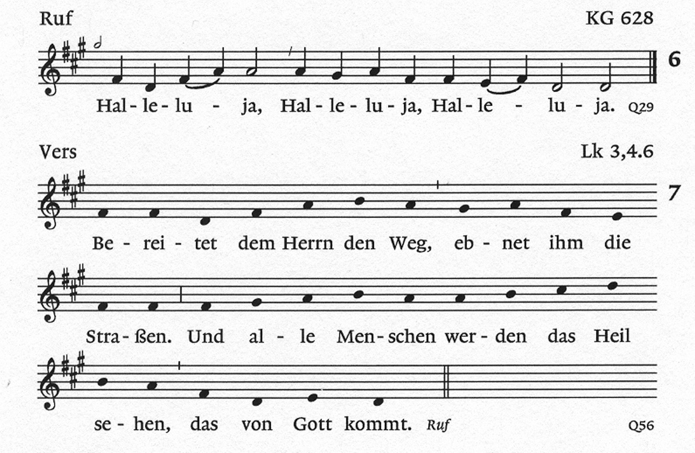 Halleluja Taize Gotteslob